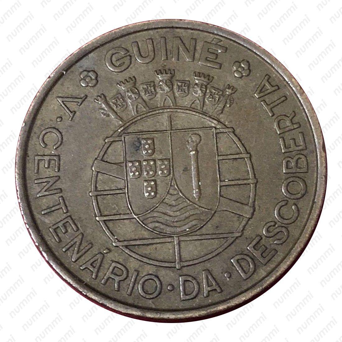 KM7 Guinea-Bissau 1946 1 Escudo