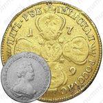 5 рублей 1789, СПБ