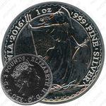 2 фунта 2016, Великобритания [Великобритания]