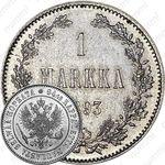 1 марка 1893, L