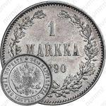 1 марка 1890, L