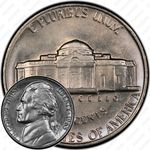 5 центов 1963, Томас Джефферсон