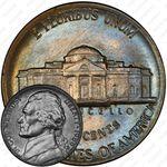 5 центов 1986, Томас Джефферсон