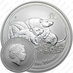 1 доллар 2008, год мыши