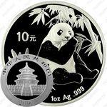 10 юаней 2007, панда