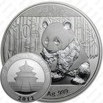 10 юаней 2012, панда