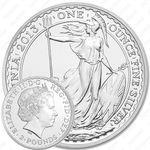 2 фунта 2013, Британия