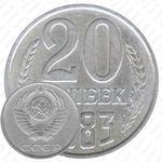 20 копеек 1983, перепутка