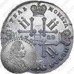 1 рубль 1728, ошибка