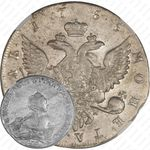 1 рубль 1755, CПБ-BS-IM