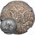 1 рубль 1761, СПБ-TI-НК