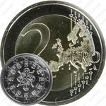 2 евро 2009, регулярный чекан Португалии
