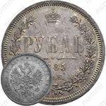 1 рубль 1885, СПБ-АГ