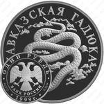 1 рубль 1999, гадюка