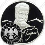 2 рубля 2004, Рерих