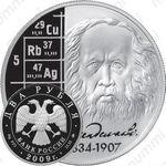 2 рубля 2009, Менделеев