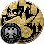 1000 рублей 2014, Положение о земских учреждениях