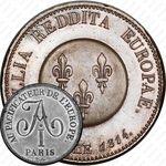 2 франка 1814