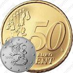 50 евро центов 1999, М