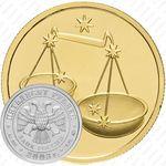 50 рублей 2003, Весы