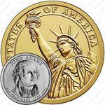 1 доллар 2007, Джон Адамс