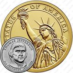 1 доллар 2007, Томас Джефферсон