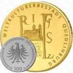 100 евро 2003, Кведлинбург