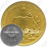Золотая школьная медаль Белорусской ССР
