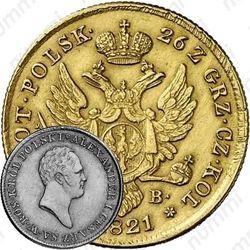 50 злотых 1821, IB