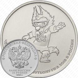 25 рублей 2018, Забивака