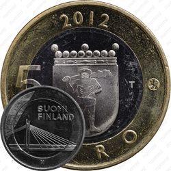 5 евро 2012, Лапландия Финляндия