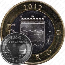 5 евро 2012, Уусимаа Финляндия