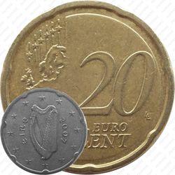 20 евро центов 2007