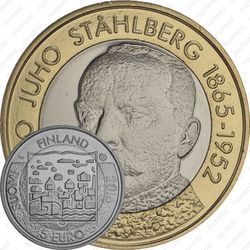 5 евро 2016, Каарло Юхо Стольберг