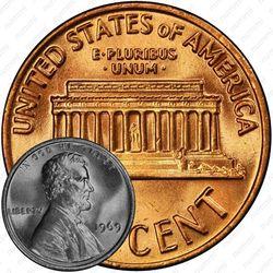 1 цент 1969