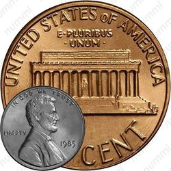 1 цент 1985