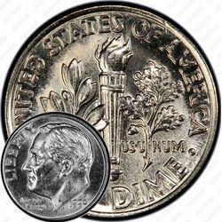 Медно-никелевая монета 10 центов 1999