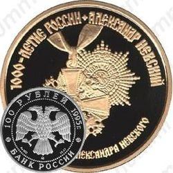 100 рублей 1995, Невский