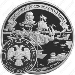 25 рублей 1996, Гангут