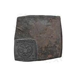 1 копейка 1726, медная плата «ЕКАТЕРIНЬБУРХЬ»