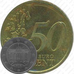 50 евро центов 2002