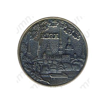 Настольная медаль «40 лет Латвийскому морскому параходству»