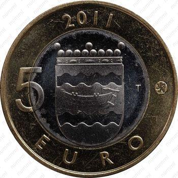 5 евро 2011, Уусимаа - Реверс