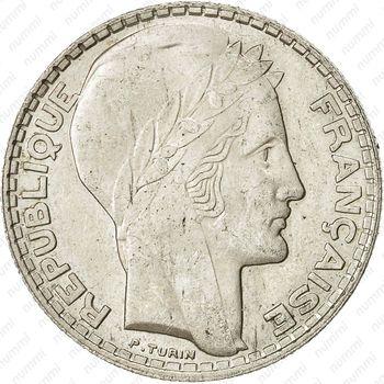 10 франков 1929 - Аверс