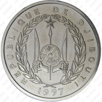 100 франков 1997 - Аверс