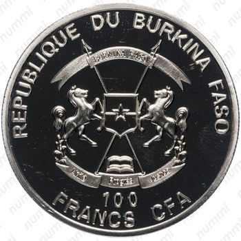 100 франков 2017 - Аверс