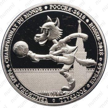 100 франков 2017 - Реверс