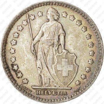 1 франк 1920 - Аверс