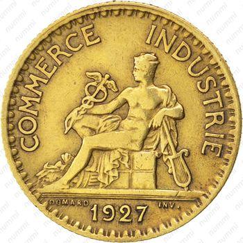 1 франк 1927 - Аверс