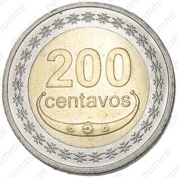 200 сентаво 2017 - Реверс